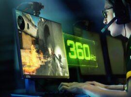 Asus ve NVDIA 360 Hz Monitör Tanıtımı Yaptı