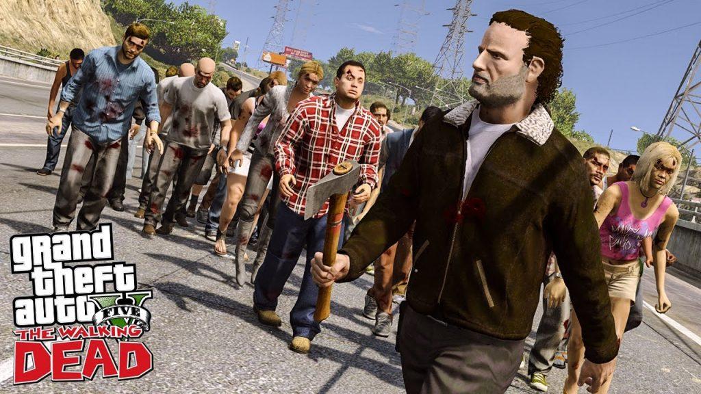gta 5 the walking dead modu
