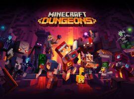 minecraft dungeons ön siparişe açıldı