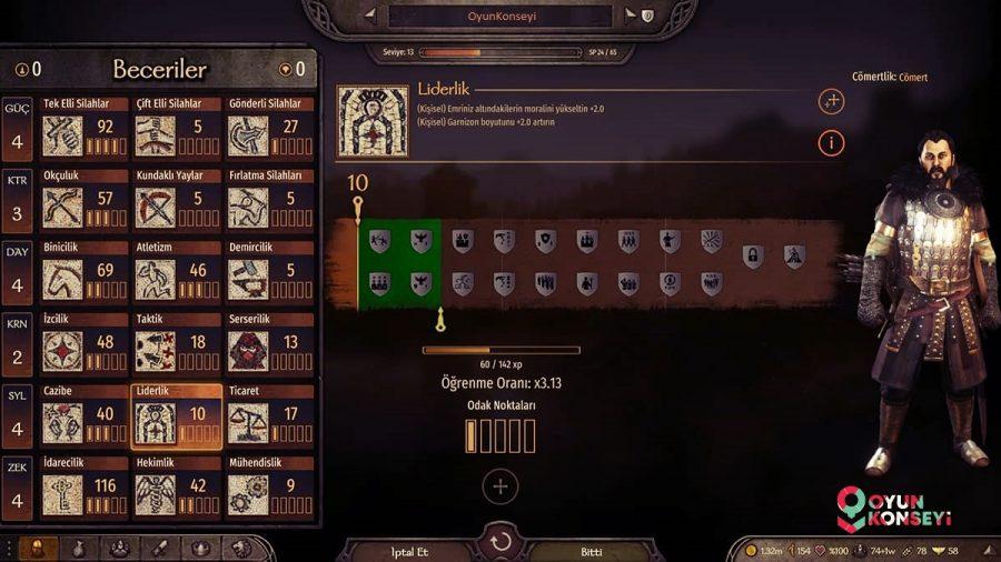mount blade 2 bannerlord liderlik sistemi - Mount & Blade 2 Bannerlord Taktikleri