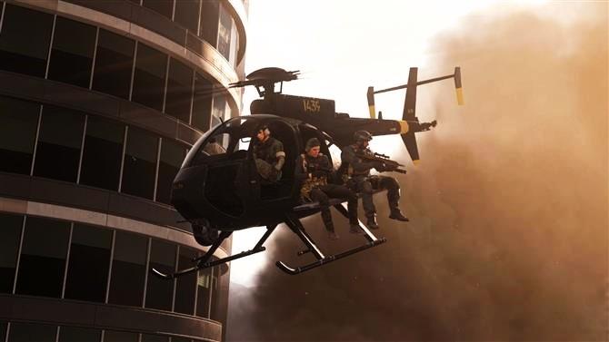 call of duty warzone helikopterler eklendimi