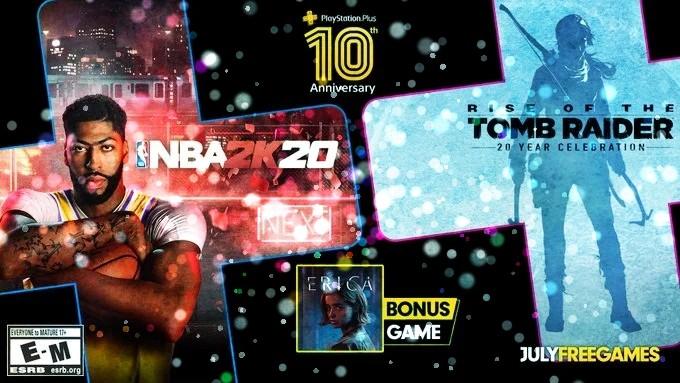PS Plus Temmuz 2020 Oyunları