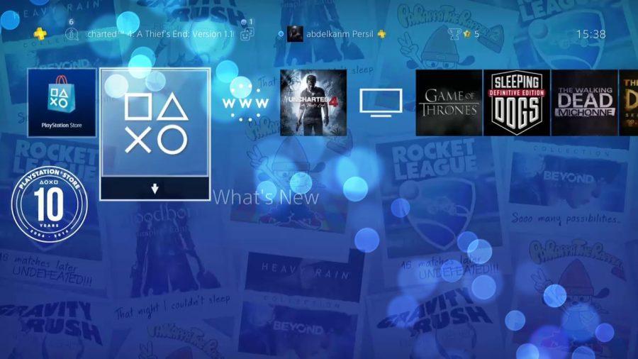 playstation 4 10. yıl teması ücretsiz
