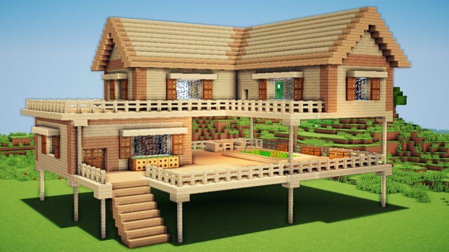 Minecraft Villa Yapımı