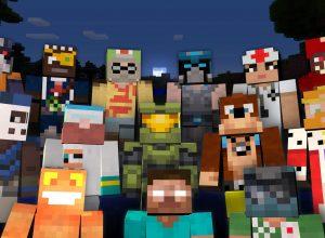 minecraft karakterleri