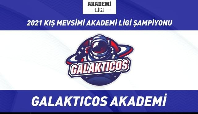 2021 Akademi Ligi Kış Mevsimi Şampiyonu Galakticos Akademi