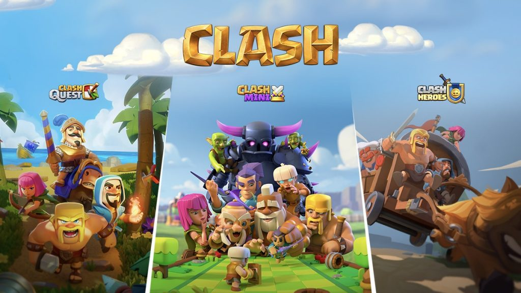supercell-clash-of-clans-universe-past-three-game will be released