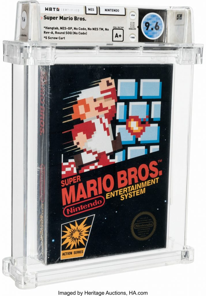 The-most-expensive-game-in-history-was-recorded-as-super-mario-bros